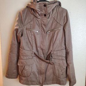 Marc New York Utility Military Hooded Jacket